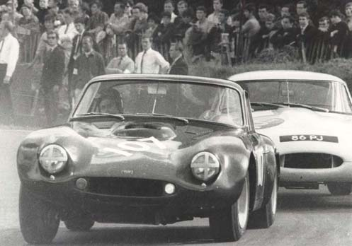 Dr E H M Paul at Brands Hatch 30th August 1965